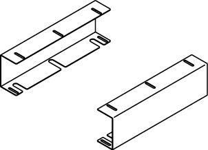 Under counter mounting bracket for 1416 and 1616
